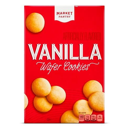 Vanilla Wafer Cookies - 11oz - Market Pantry™ - image 1 of 1