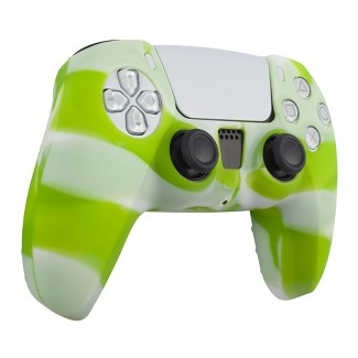 Insten Silicone Skin Cover Case Compatible With Sony PlayStation PS5 Controller, Camouflage Green White : Target