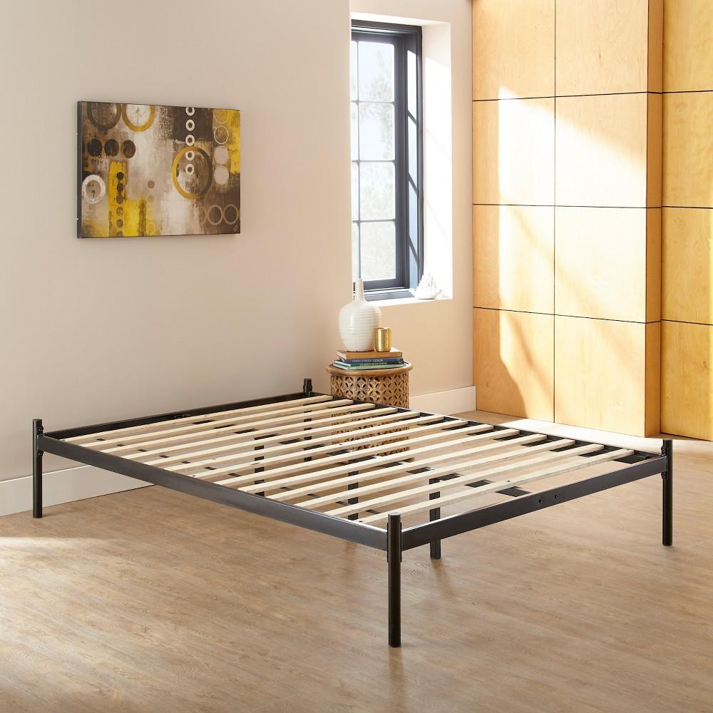 Fantastic Ollie Metal Platform Bed Frame Twin Sleek Black Eco Dream Black Ibusinesslaw Wood Chair Design Ideas Ibusinesslaworg