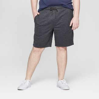 Men's 8.5'' Fleece Knit Shorts - Goodfellow & Co™ Charcoal Gray XL