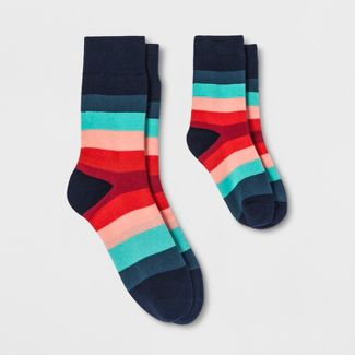 Pair of Thieves Men's Simon Ese Dad + Kid Casual Socks - Red/Blue S