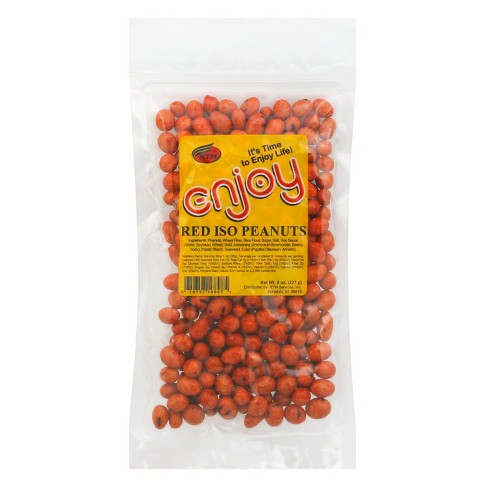 Enjoy Red Iso Peanuts - 8oz - image 1 of 1