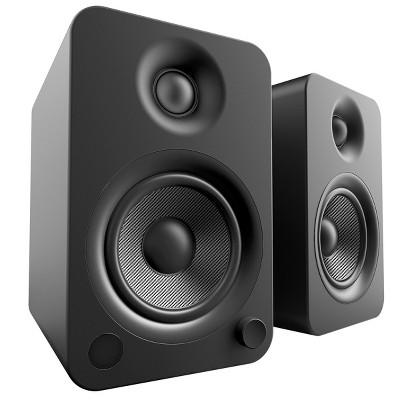 Kanto YU4 Powered Bookshelf Speakers with Built-In Bluetooth - Pair