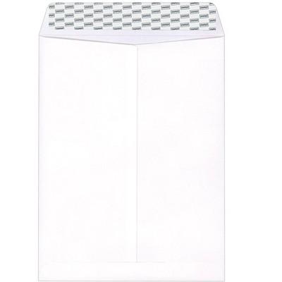 "MyOfficeInnovations EasyClose Catalog Envelopes 10""L x 13""H White 100/BX 379476"