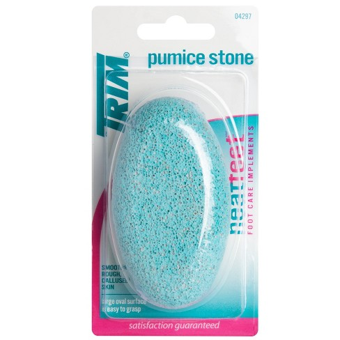 Trim Neat Feet Easy-to-Grip Oval Pumice Stone - image 1 of 4
