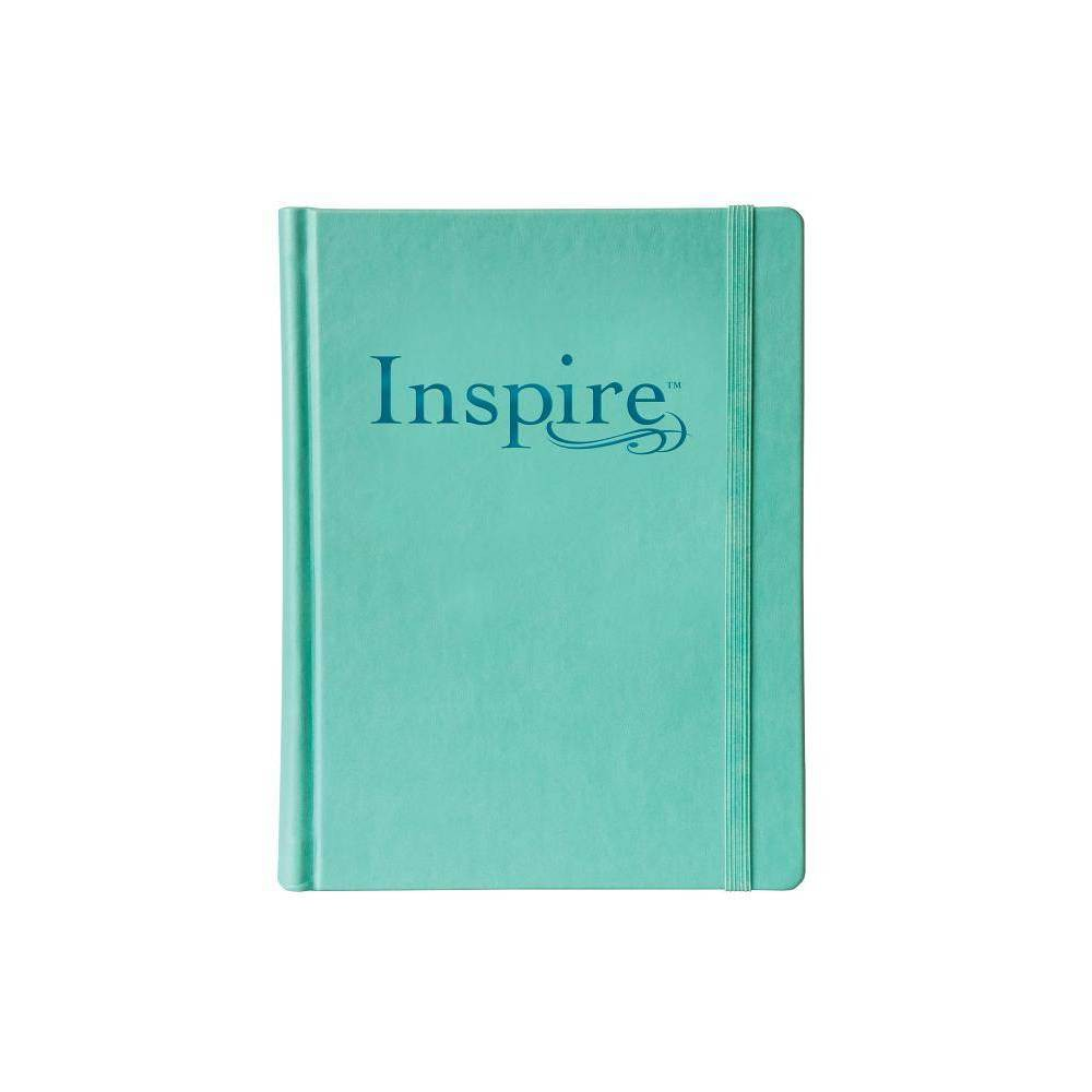 Inspire Bible Nlt Elastic Band Closure Inspire Full Size Leather Bound