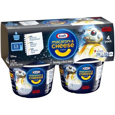 Kraft Star Wars Macaroni & Cheese 7.6 oz - 4pk - image 1 of 3