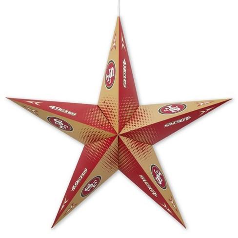 NFL San Francisco 49ers Star Lantern - image 1 of 2