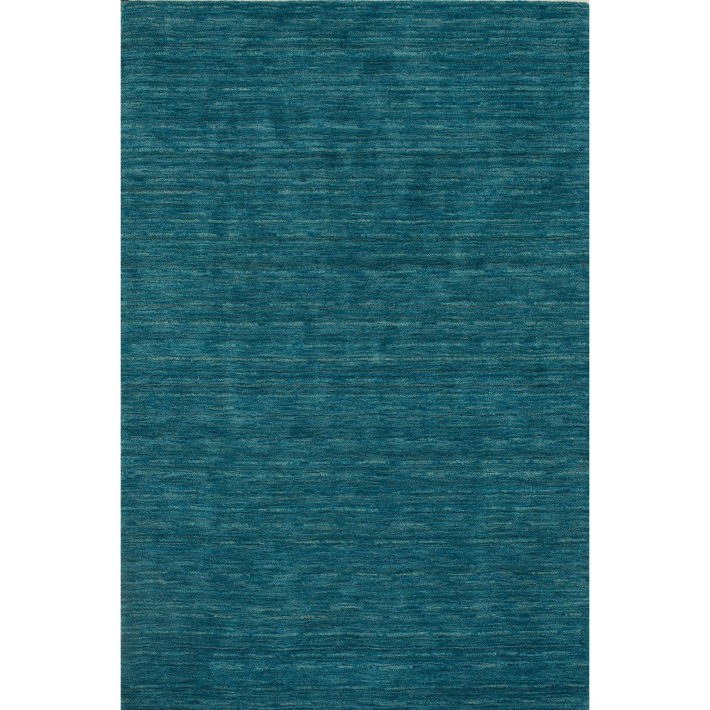 9'x13' Tonal Solid 100% Wool Area Rug Cobalt (Blue) - Addison Rugs