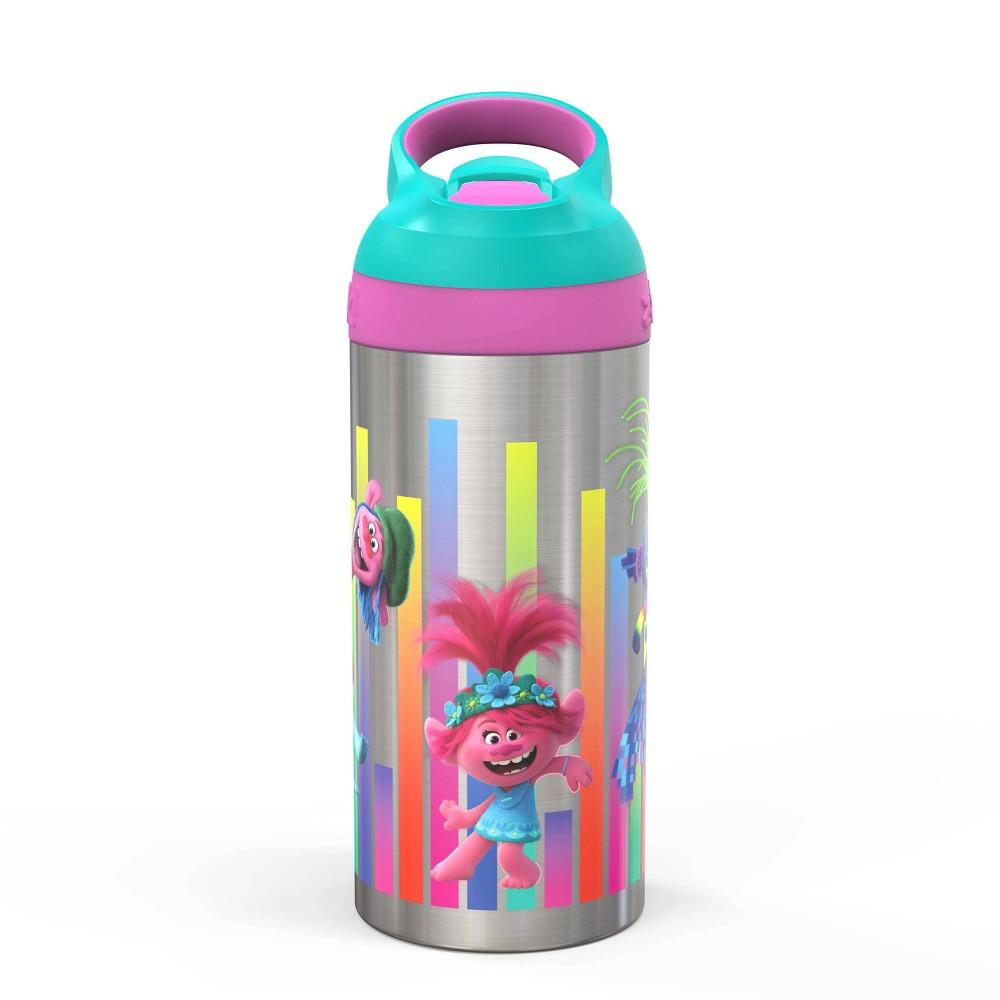 Image of DreamWorks Trolls 2 19.5oz Stainless Steel Water Bottle - Zak Designs