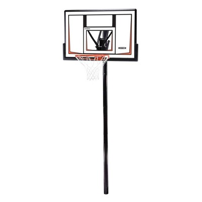 "Lifetime 50"" Adjustable In-Ground Basketball Hoop"