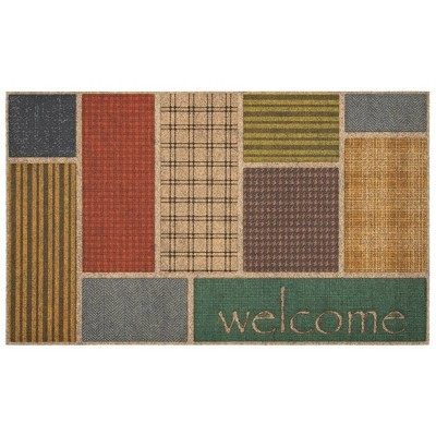 "1'6""x2'6"" Ornamental Entry Mat Welcome Impressions - Mohawk"