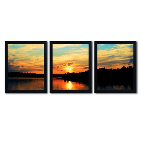 'Touch the Wind' by CATeyes Ready to Hang Multi Panel Art Set - image 1 of 4