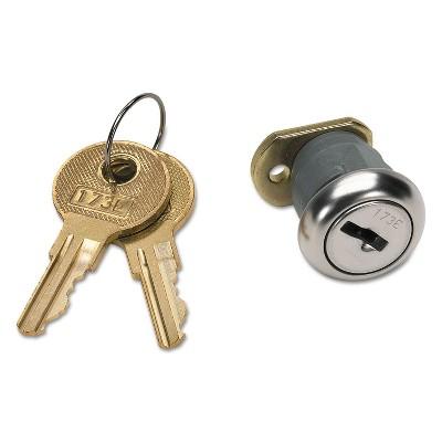 HON Vertical File Lock Kit Chrome F24