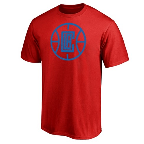 NBA Los Angeles Clippers Men's Monochrome Standard T-Shirt - image 1 of 3