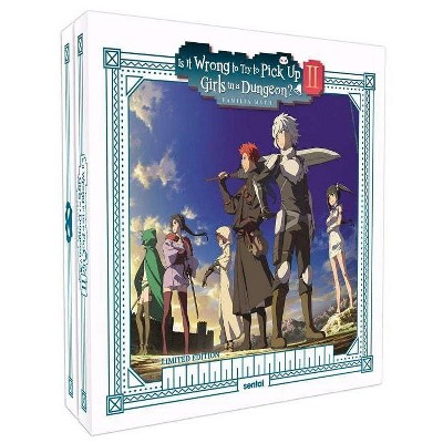 Is It Wrong To Pick Up Girls In A Dungeon? 2 (Blu-ray)(2020)