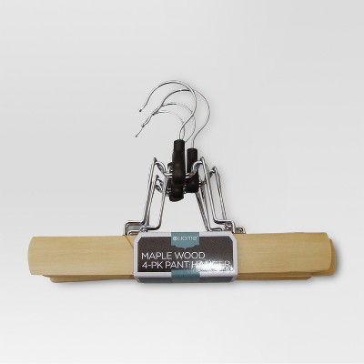Wood Pants Hangers 4-pk. - Maple - Threshold™