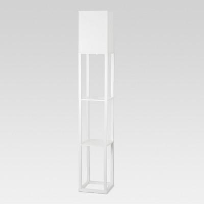 Shelf Floor Lamp White Lamp Only - Threshold™