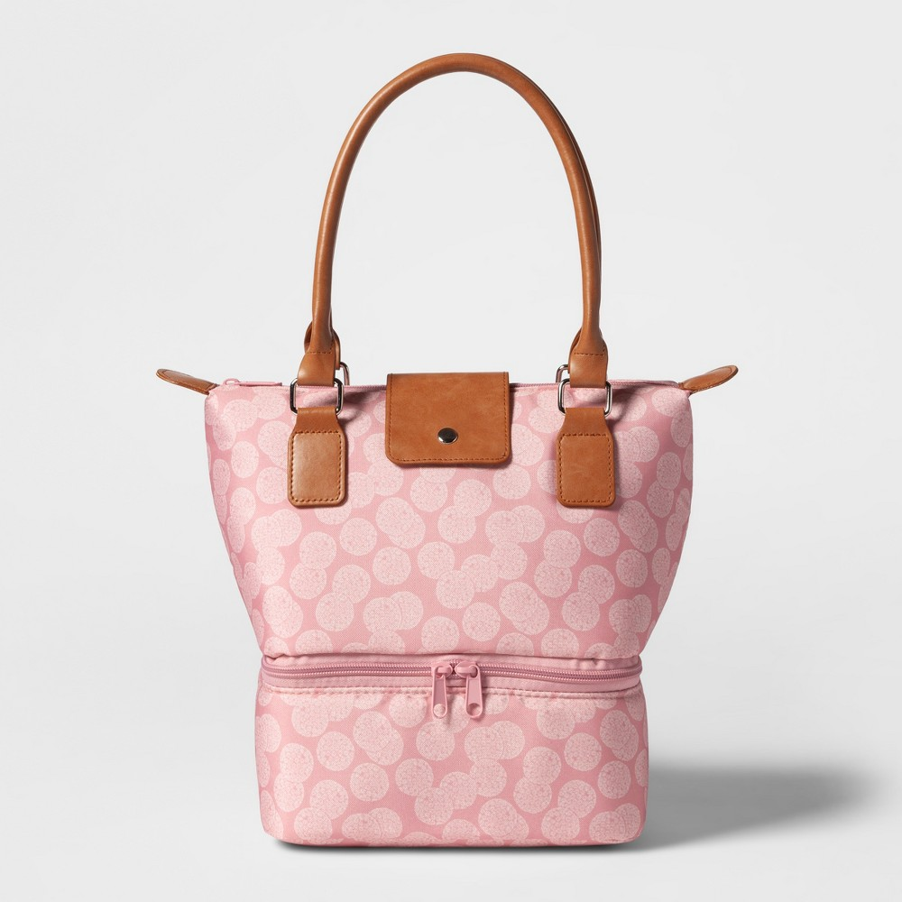 Image of Dual Lunch Tote Pink Duchess Print - Threshold