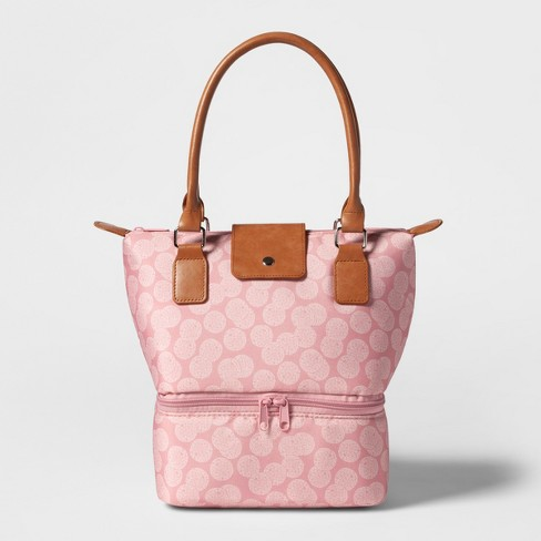 Dual Lunch Tote Pink Duchess Print - Threshold™ - image 1 of 2
