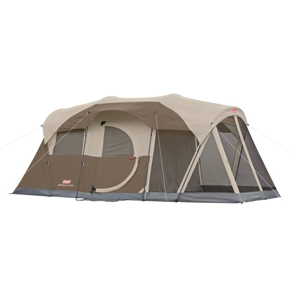 Coleman Weather Master 6-Person Screened Tent - Brown, Light Brown