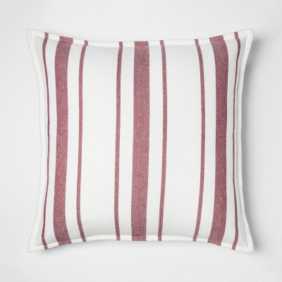 Red Stripe Oversize Throw Pillow - Threshold™