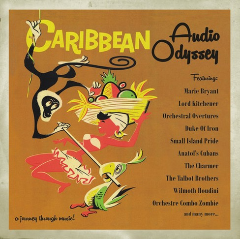 Various - Caribbean Audio Odyssey Vol 1 & 2 (CD) - image 1 of 1