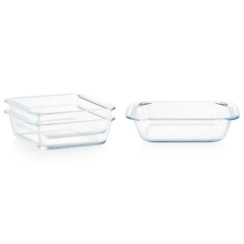 Pyrex Littles 3pc Glass Bakeware Value Pack - image 1 of 4