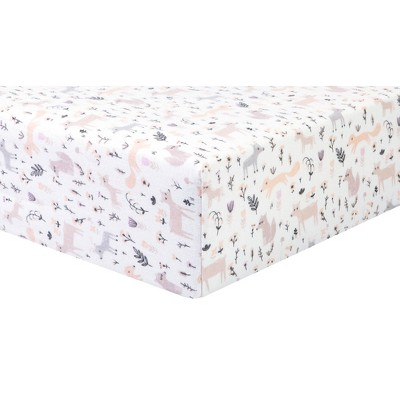 Trend Lab Mystical Forest Flannel Fitted Crib Sheet