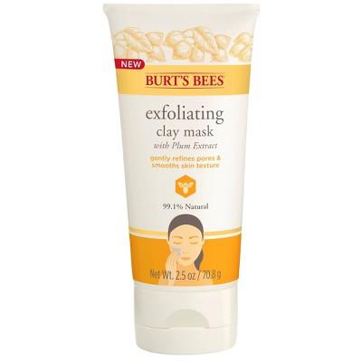 Burt's Bees Exfoliating Clay Face Mask - 2.5oz