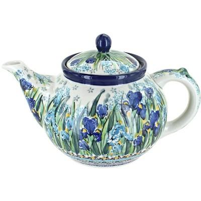 Blue Rose Polish Pottery Callista Medium Teapot