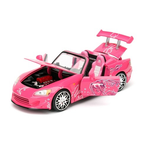 Jada Toys Fast & Furious 2001 Honda S2000 Die-Cast Vehicle 1:24 Scale Pink - image 1 of 4