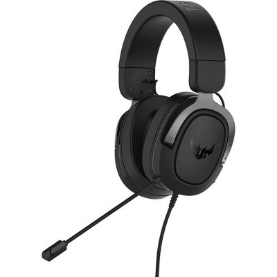 TUF Gaming H3 Gaming Headset - Stereo - Mini-phone - Wired - 32 Ohm - 20 Hz - 20 kHz - Over-the-head - Binaural - Circumaural - 4.27 ft Cable