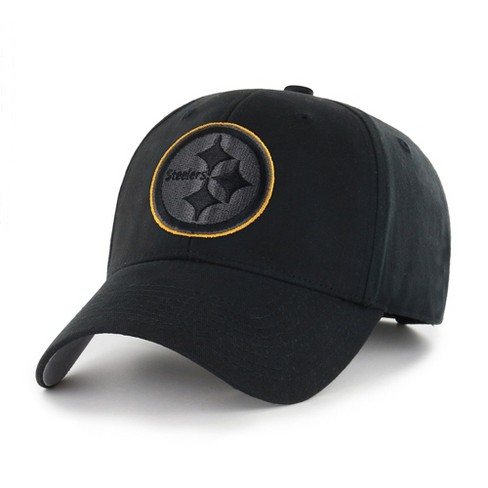3aed3614435 NFL Pittsburgh Steelers Classic Black Adjustable Cap Hat By Fan Favorite    Target