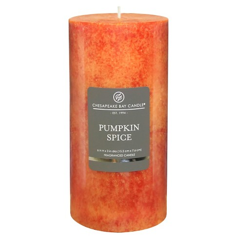 "Pillar Candle Pumpkin Spice 6""x3"" - Chesapeake Bay Candle® - image 1 of 1"
