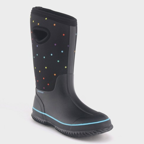 Girls  Polly Neoprene Winter Boots - Cat   Jack™   Target 367adda0e2dd
