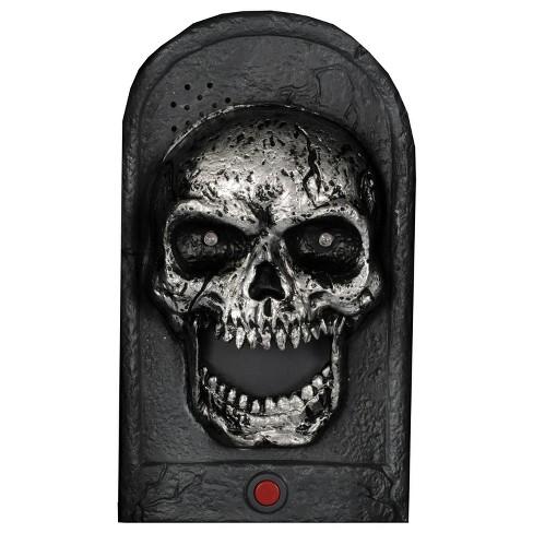 Halloween Door Bell Skull Light-Up - image 1 of 2