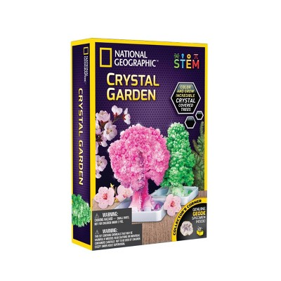 National Geographic Crystal Garden Science Kit