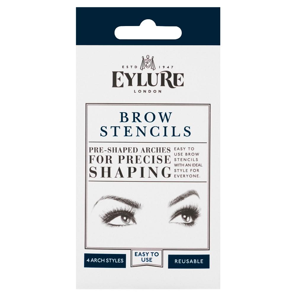 Eylure Eyebrow Stencils - 4ct, Clear