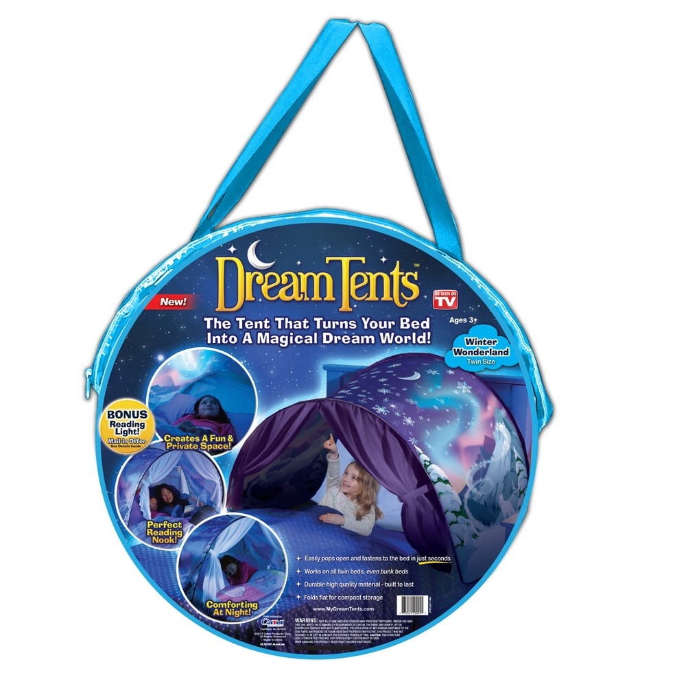 As Seen on TV Dream Winter Wonderland Bed Tents, Multi-Colored