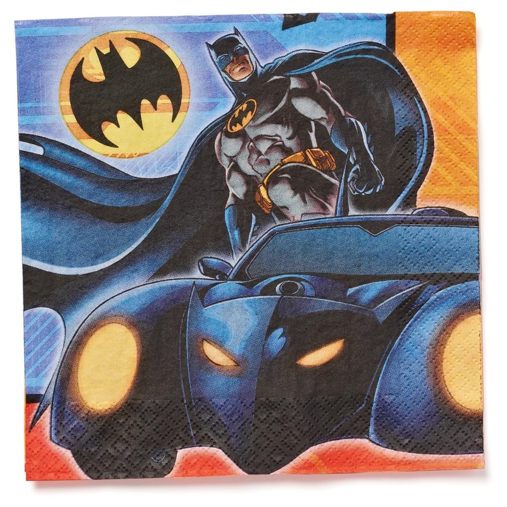 Image of 16 ct Batman Napkin, Disposable Napkins