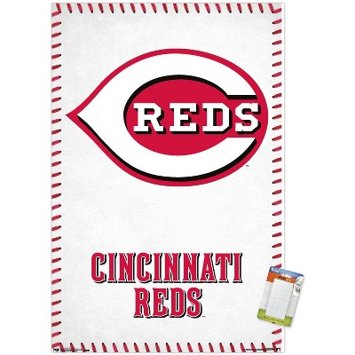 Trends International MLB Cincinnati Reds - Logo 17 Unframed Wall Poster Prints