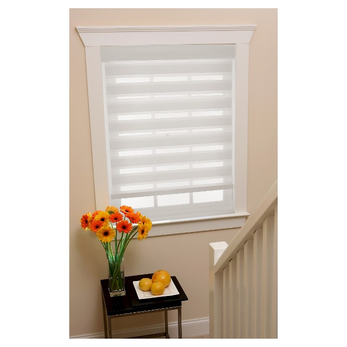 Cordless Celestial Sheer Double Layered Light Filtering Shade - Achim - image 1 of 3