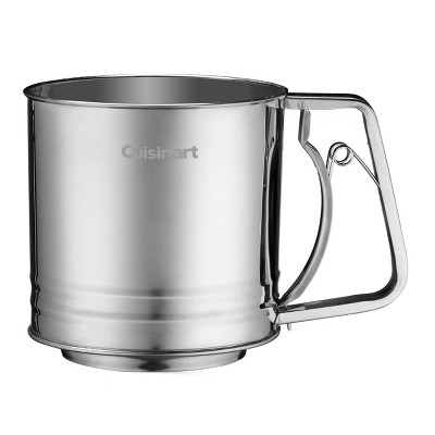 Cuisinart 4 Cup Stainless Steel Flour Sifter - CTG-00-SIF