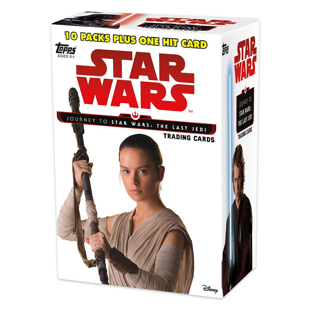 Star Wars Journey to Episode 8 Trading Card Full Box