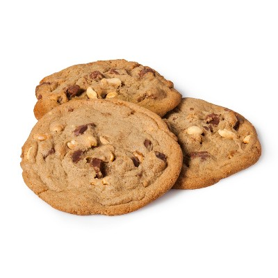 Peanut Butter Chocolate Chunk Cookies - 6ct - Archer Farms™