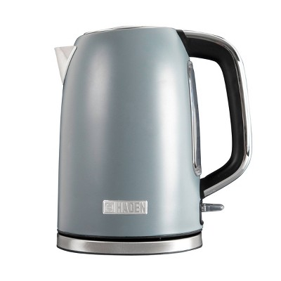 Haden Perth 1.7L Stainless Steel Electric Kettle - Gray