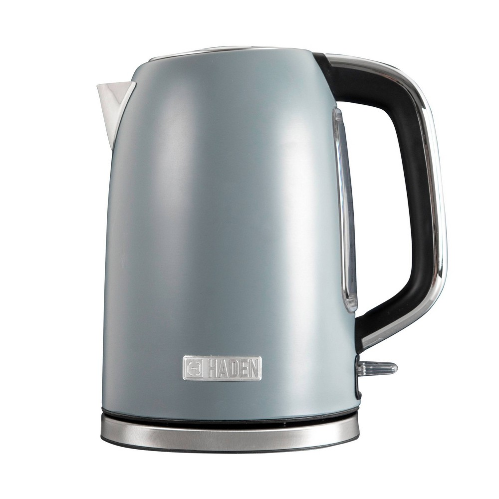 Haden Perth 1 7l Stainless Steel Electric Kettle Gray