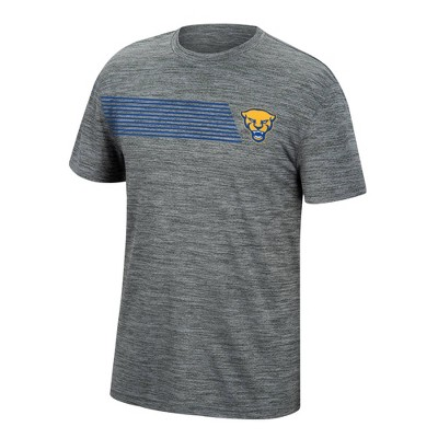 NCAA Pitt Panthers Men's Mesh Gray T-Shirt