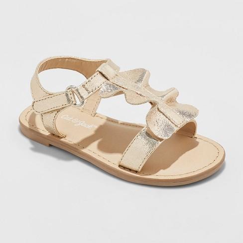 Toddler Girls' Kalisa Ruffle Slide Sandals - Cat & Jack™ - image 1 of 3